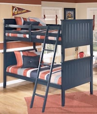 Ashley Twin BUNK BEDS (both  beds); no ladder  26 km