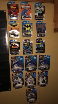 Batman collectible hot wheels