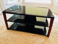 Glass TV & Media Console Frederick