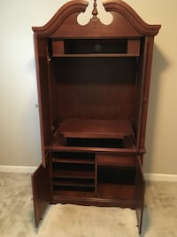 Brown wooden cabinet with shelf Spring Hill