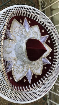 Vintage large Fancy Mexico hat (all hand made beautiful ) Biloxi, 39531