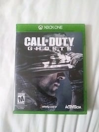 Call of Duty Ghosts Xbox One Sarnia, N7S 2C1