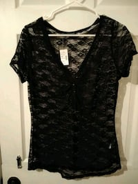 Black see-through shirt from maurices Wichita, 67208