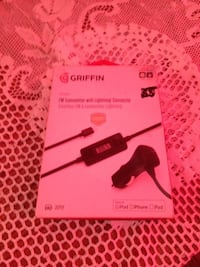Griffin Fm Transmitter with lightning Connector