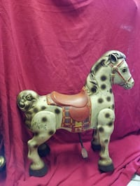 Childs MOBO Bronco Metal Rocking Riding Horse