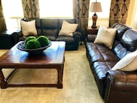 Brown leather couch set Castle Rock, 80108