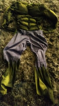 The incredible Hulk muscle halloween costume Edison