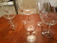 four clear glass wine glasses Spring City, 37381