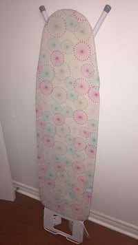 brown, pink, and gray ironing board Toronto, M1L 3Y1