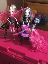 Monster high animal dolls (3) Bowie, 20720