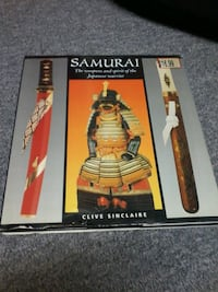 Book about samurai and there swords, armour etc.. Ottawa, K4A 3C3