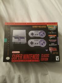 SNES game console with box New Tecumseth, L9R 1B9