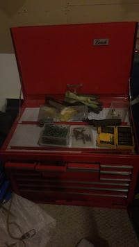 Red tool chest St Albert, T8N 6G6