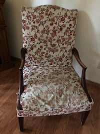 FREE antique apholstered chair Mashpee
