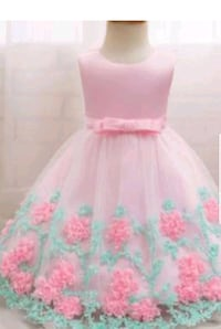 pink and green sleeveless dress Prince George's County