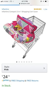 Infantino compact 2-in-1 cart cover Manassas, 20109