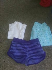 Girls OP Shorts 3T. White Old Navy Shirt 3T Warr Acres, 73122