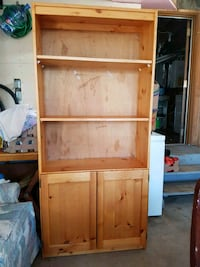 brown wooden framed glass display cabinet 3120 km