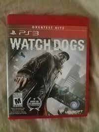 Ps3 Watchdogs game ( new condition)