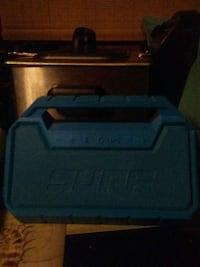 black and blue plastic case Baltimore, 21211