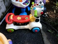 toddler's red and white ride-on toy Abbotsford, V2T 3L6
