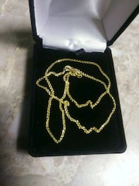 """14K solid gold 16"""" chain"""