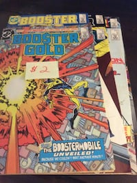 JUST REDUCED Comics Booster Gold    Rockville