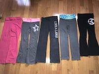Girls yoga pants size 8 Brampton