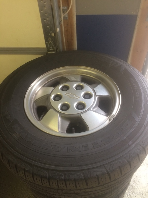 TAHOE wheels and tires