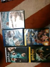 four assorted DVD movie cases Miami, 74354