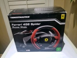 Ferrari 458 spider steering wheel (xbox/pc)