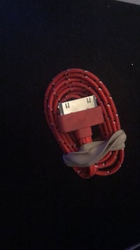 red and white USB cable 218 mi