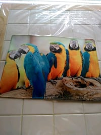 Blue&Gold Macaws Placemat Large.Vibrant Kissimmee, 34746
