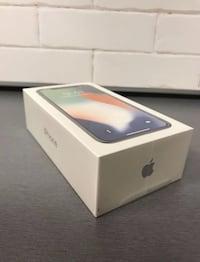 Silver iphone x box