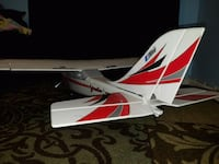 white and red RC helicopter 32 km