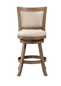 Boraam 76524 Melrose Counter Height Stool, 24-Inch, Driftwood - 3 Stools @ $100 each null