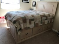 Custom Captains Bed - Wooden Woodbridge, 22192