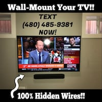 TV Mounting Services! Paradise Valley, 85253