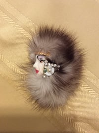 Vintage fur and decor face pin Palm Bay, 32907