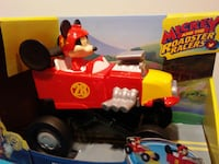 Mickey Roadster Racer Hot Rod Toy  West Springfield