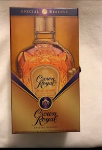 Crown Royal Original Special Reserve Whiskey Limited Edition Collector's Box⭐Markdown ⭐ Houston, 77099