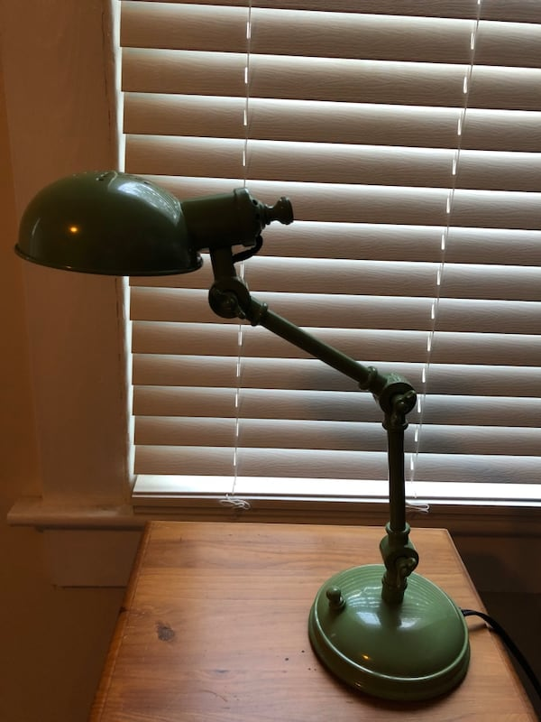 Pottery Barn Metal Task Lamp 4