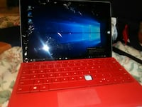 Microsoft surface pro 3 cracked screen