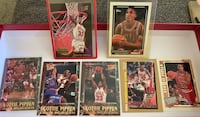 Scottie Pippen NBA basketball cards Excellent Condition  Folsom, 95630