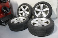 "17"" Volkswagen rims + continental True contact 45% Chicago"