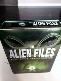 Alien files 5 DVD collection item.