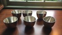 Jefferson Cups, Kirk Pewter, by Hamle, no. 223.  set of 6 Falls Church, 22046