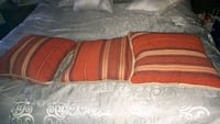 red and white bed sheet Laval, H7X 3H2