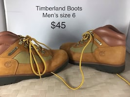 Timberland men's boots size 6