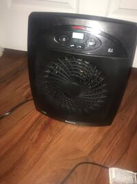 Holmes Energy Saving Fan-Forced Heater with Eco-Smart Technology - Black Manassas, 20109